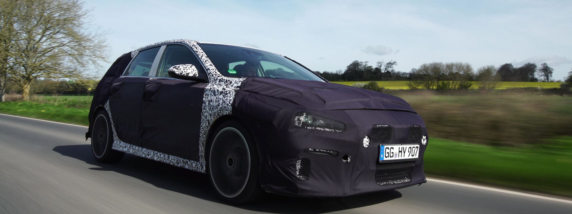 Video spectaculaire test Hyundai i30 N in Engeland