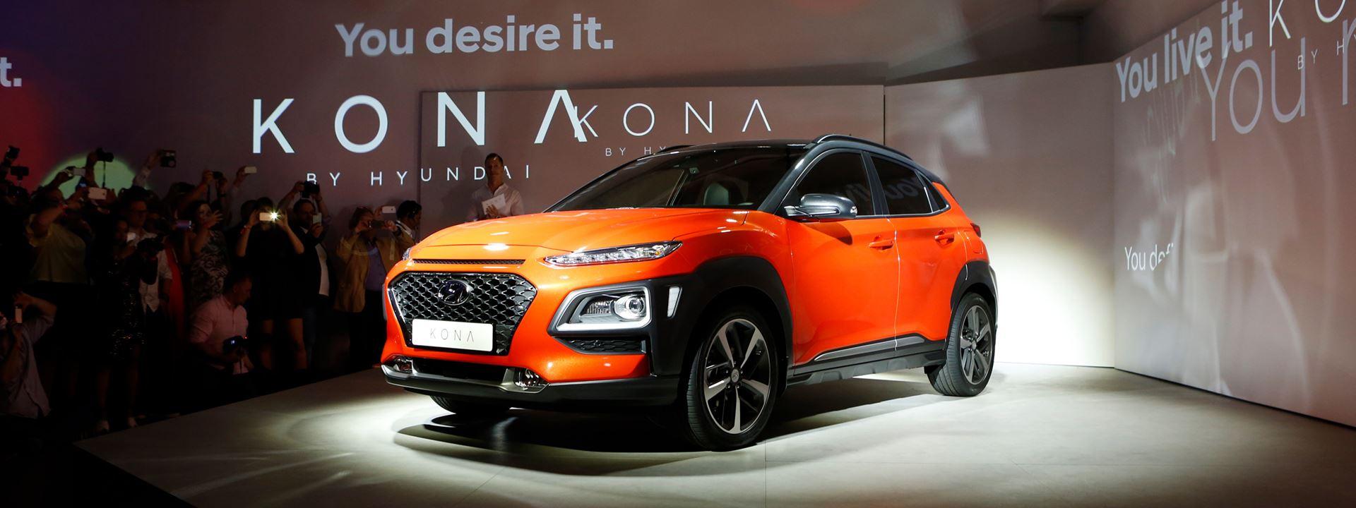 Nieuwe Hyundai KONA gepresenteerd in Milaan