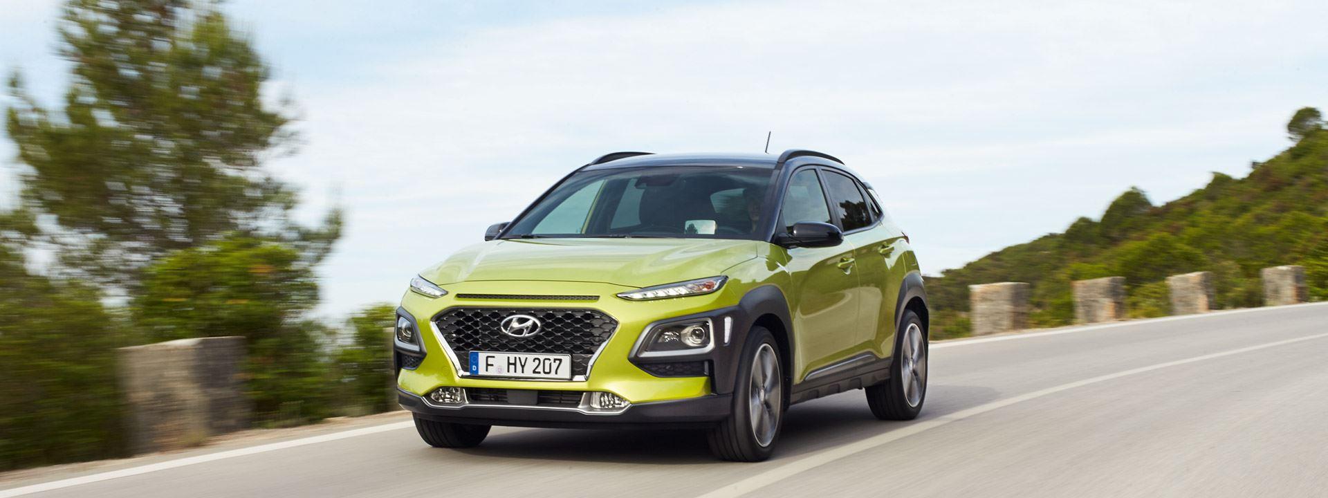 Eerste rijbeelden van de Hyundai KONA