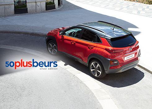 Kom naar de 50PlusBeurs en ontdek de nieuwe Hyundai KONA