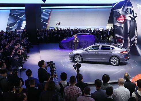 Volop genieten bij Hyundai op de autobeurs in Frankfurt