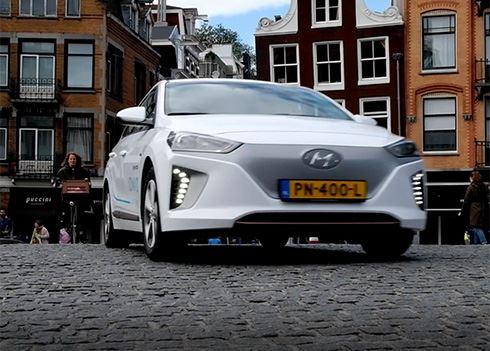 Elektrisch autodelen in Amsterdam met IONIQ Car Sharing