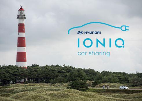 Video Hyundai IONIQ Car Sharing op Ameland