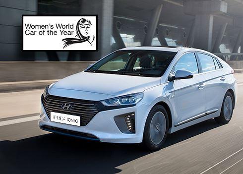 Hyundai IONIQ Womens World Car of the Year