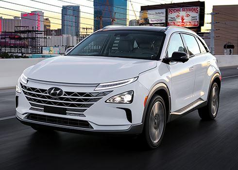 Hyundai NEXO is naam van nieuwe generatie Hyundai waterstofauto