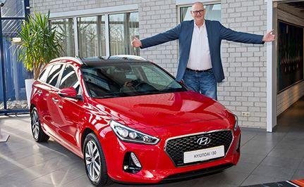 Hyundai i30 Wagon uitgeroepen tot beste auto voor lange mensen
