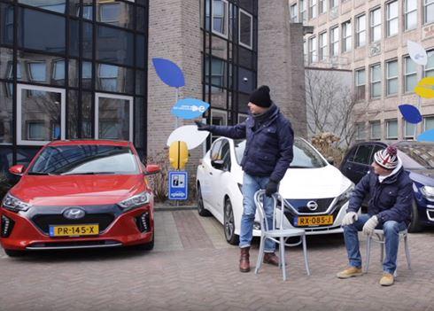 Hyundai IONIQ Electric schittert in triotest ANWB