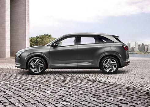 Veel belangstelling voor waterstofauto Hyundai NEXO