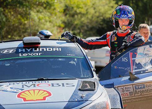 Hyundai jaagt op hattrick in Rally van Argentinie