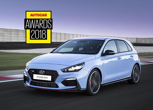 Magazine Autocar beloont Hyundai i30 N met Game changer Award