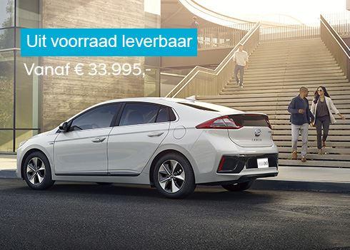 Hyundai IONIQ Electric: direct elektrisch rijden met slechts 4% bijtelling