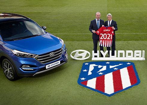 Hyundai sluit ook sponsordeal met Atletico Madrid