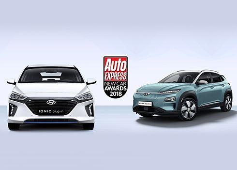 Hyundai in de prijzen bij Auto Express New Car Awards 2018