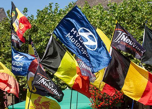 Rallyrijder Thierry Neuville loopt verder uit