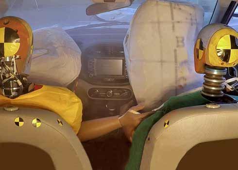 Nieuw airbagsysteem biedt extra bescherming bij meervoudige botsingen