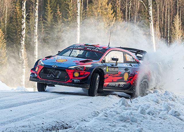 Ott Tänak revancheert zich in Rally van Zweden