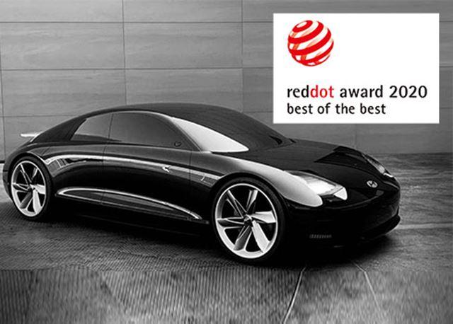 Design van Hyundai beloond met drie Red Dot Awards